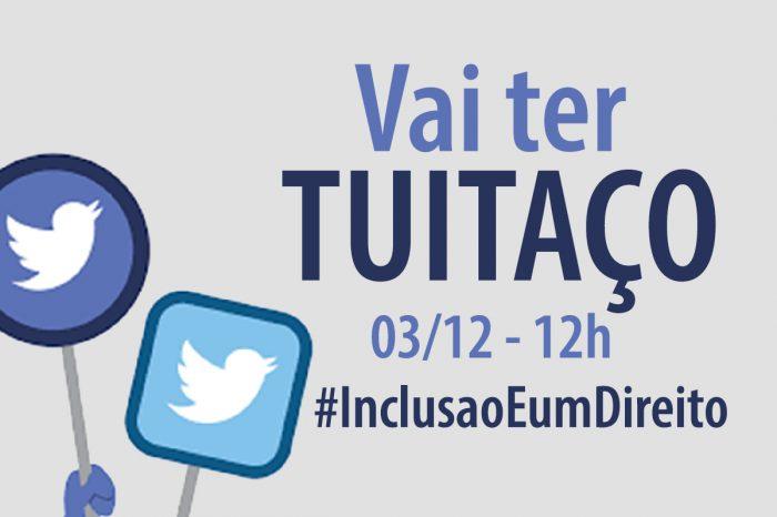 #InclusaoEumDireito - Dia Internacional da Pessoa com Deficiência terá tuitaço
