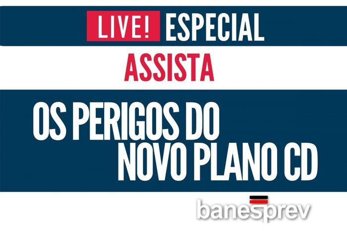 Live Especial Banesprev - Os Perigos do Novo Plano CD