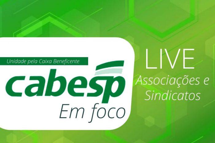 Cabesp Em Foco - Live sobre AGO acontece hoje (23). Acompanhe!