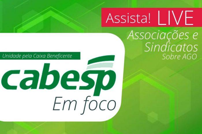 Assista live sobre a AGO da Cabesp