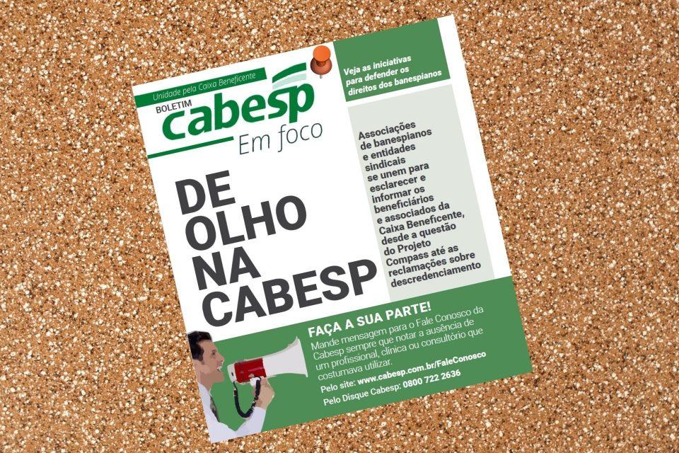 Boletim traz informações e esclarecimentos aos associados da Cabesp