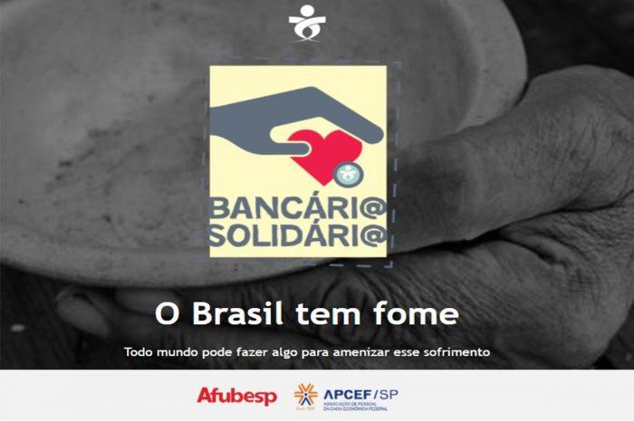 Campanha Bancário Solidário ganha site exclusivo para doações