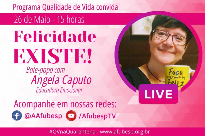 #QVnaQuarentena - Felicidade é tema de bate-papo na programação do mês de maio