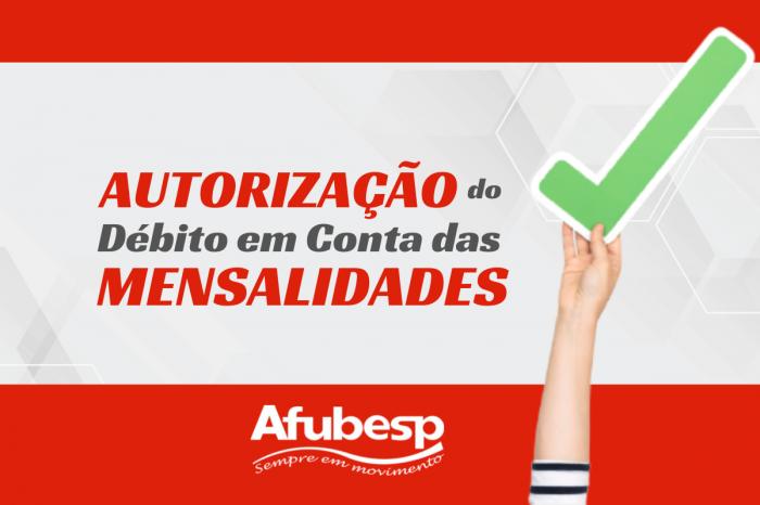 Afubesp - Campanha de Autorização de Débito em Conta das mensalidades continua