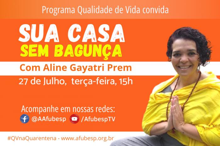 #QVnaQuarentena de julho traz dicas valiosas para organizar sua casa